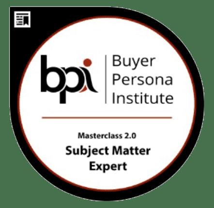 Zertifizierung Buyer Persona Institute